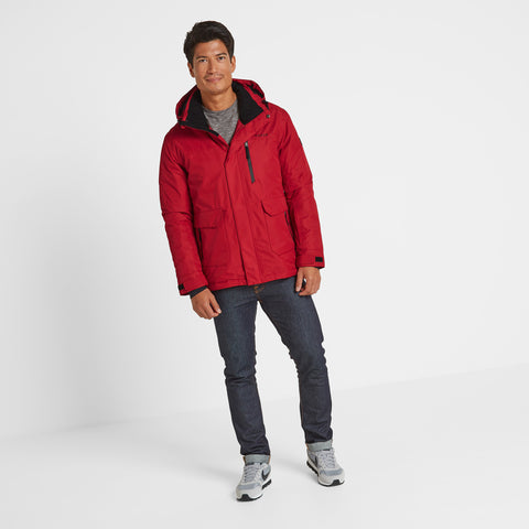 Vertigo Mens Winter Jacket - Chilli