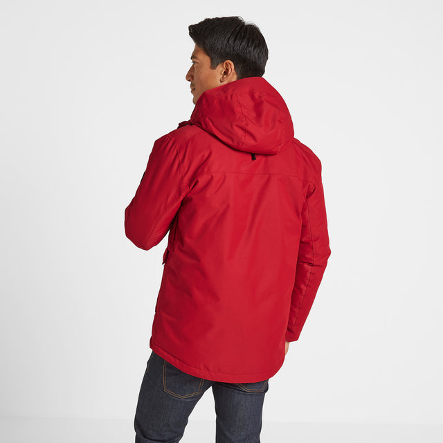 Vertigo Mens Winter Jacket - Chilli image 3