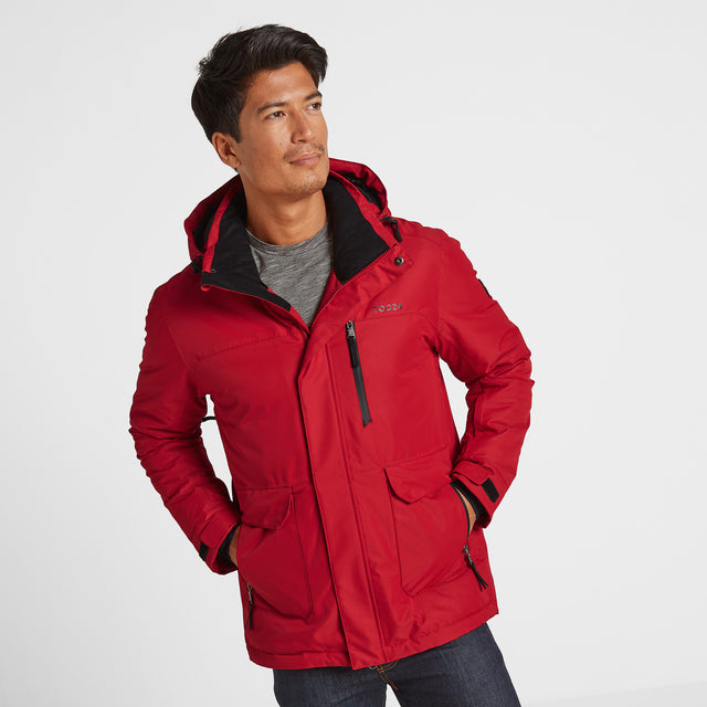 Vertigo Mens Winter Jacket - Chilli image 1