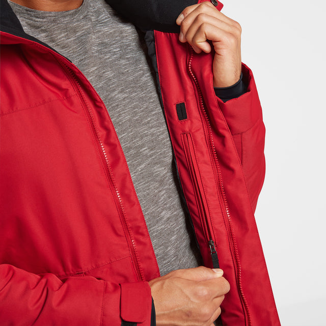 Vertigo Mens Winter Jacket - Chilli image 5
