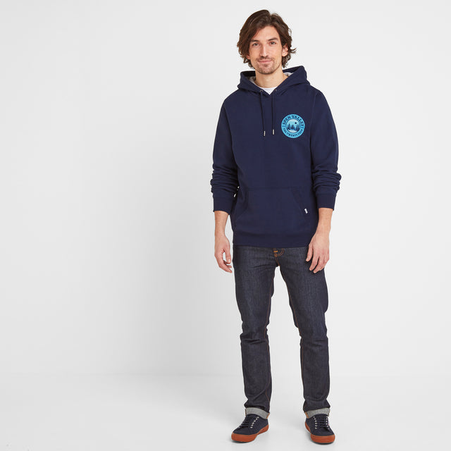 Webster Mens Hoody - Navy image 2