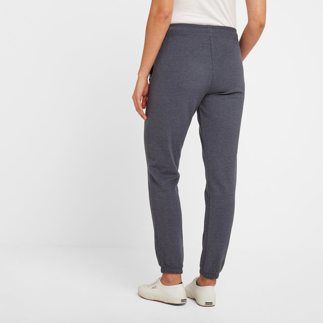 Willerby Womens Sweat Pants - Navy Marl image 2