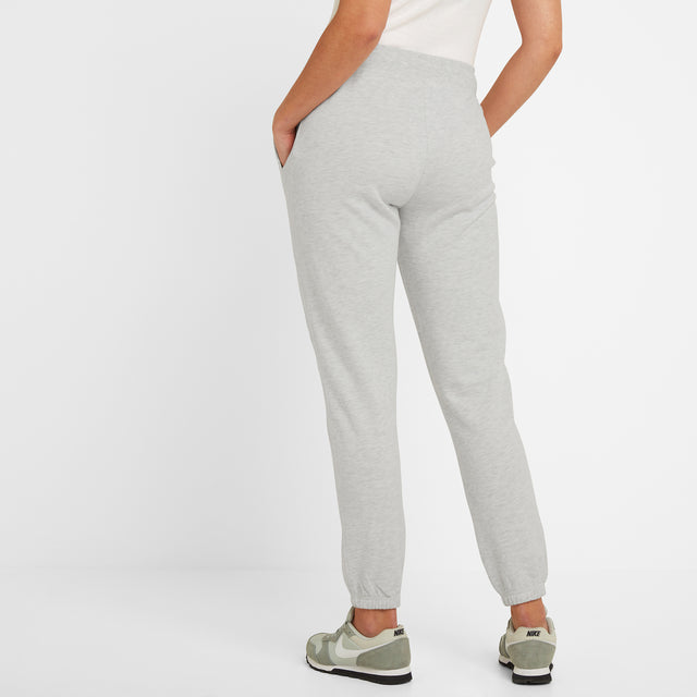 Willerby Womens Sweat Pants - Ice Grey Marl image 3
