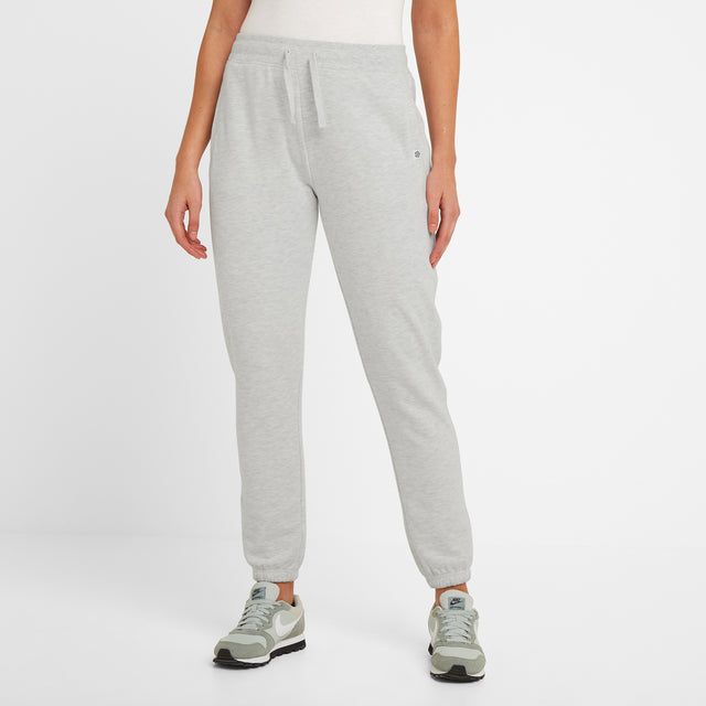 Willerby Womens Sweat Pants - Ice Grey Marl image 1