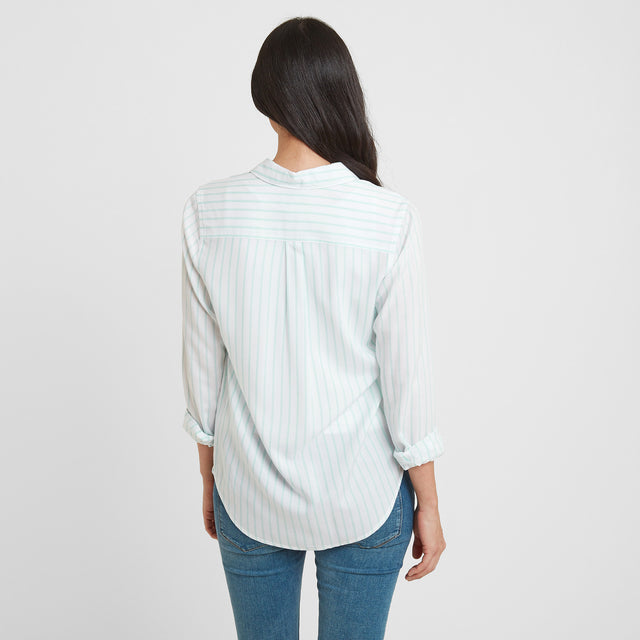 Wirral Womens Long Sleeve Shirt - White image 2