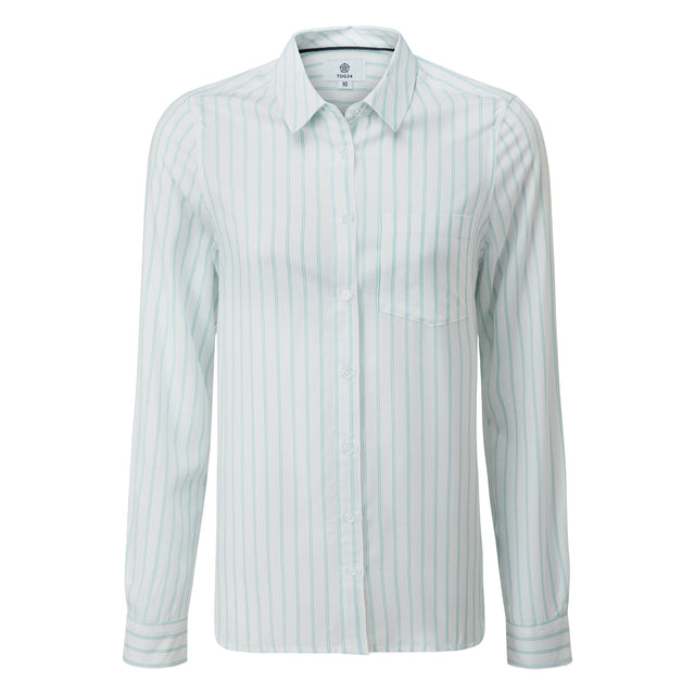 Wirral Womens Long Sleeve Shirt - White image 5