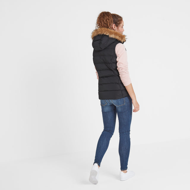 Yeadon Womens Insulated Gilet - Black image 5