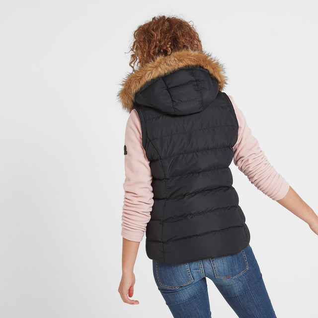 Yeadon Womens Insulated Gilet - Black image 3