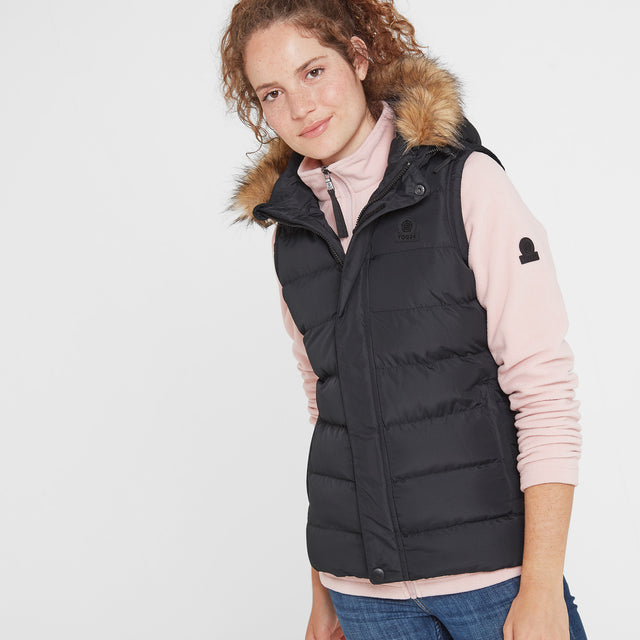 Yeadon Womens Insulated Gilet - Black image 1