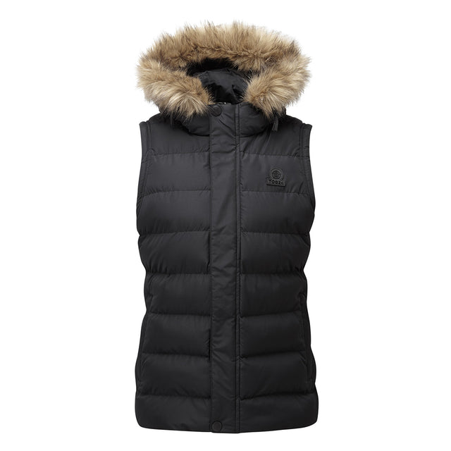 Yeadon Womens Insulated Gilet - Black image 6