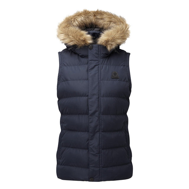 Yeadon Womens Insulated Gilet - Navy image 3