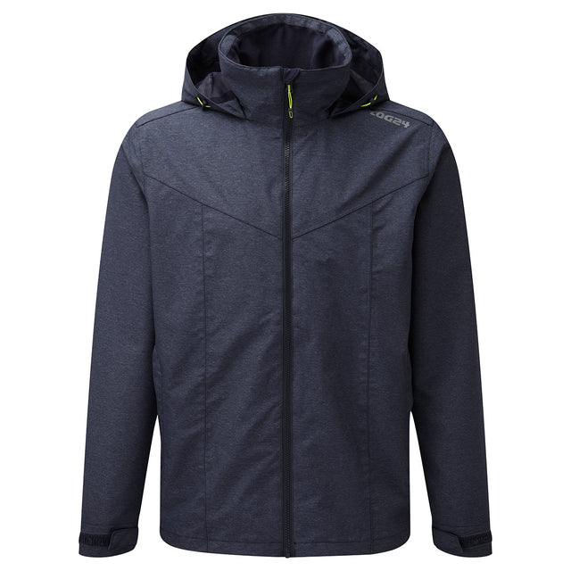 Acrid Mens Milatex Jacket - Navy Marl image 1