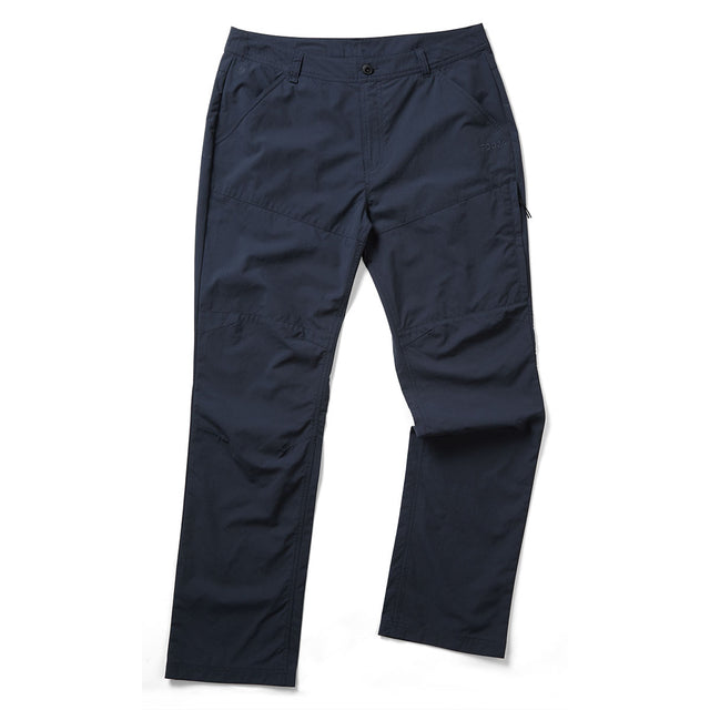 Acton Mens Performance Trousers Regular Leg - Dark Navy
