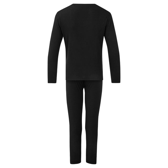 Ainley Kids Thermal Set - Black image 2