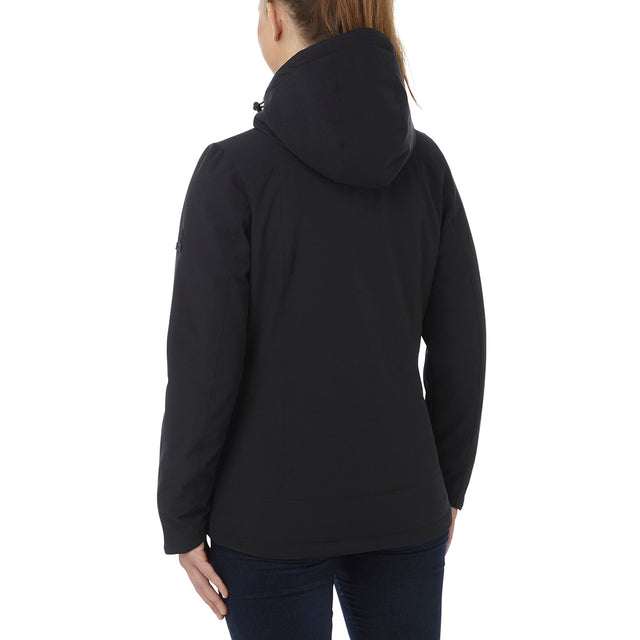 Alexis Womens TCZ Thermal Hooded Jacket - Black image 3