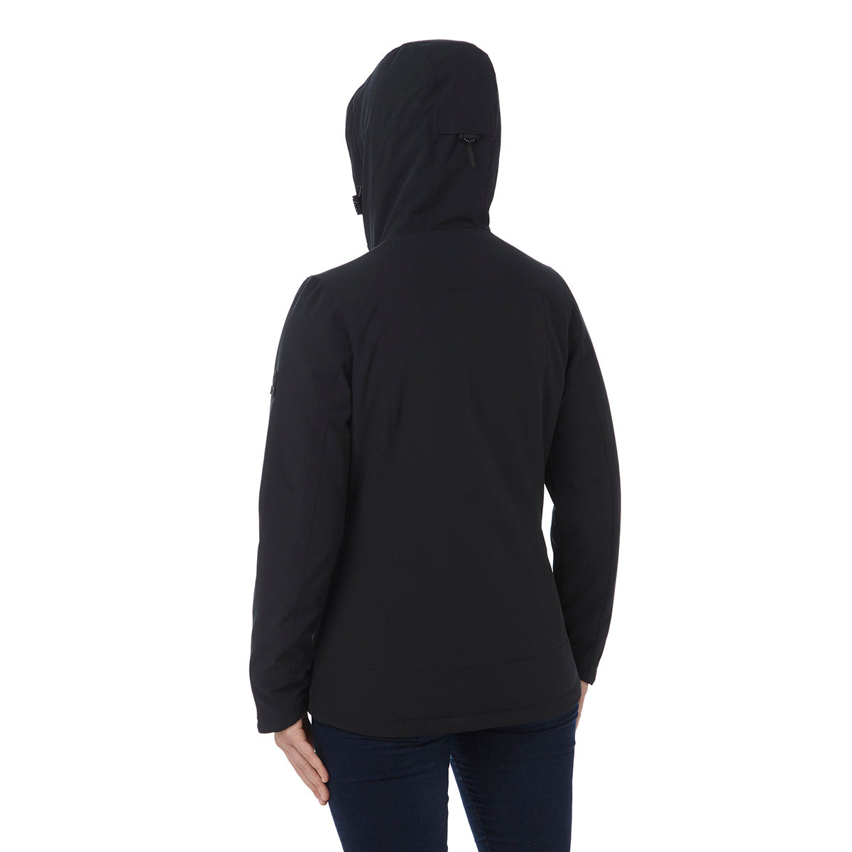 Alexis Womens TCZ Thermal Hooded Jacket - Black image 4