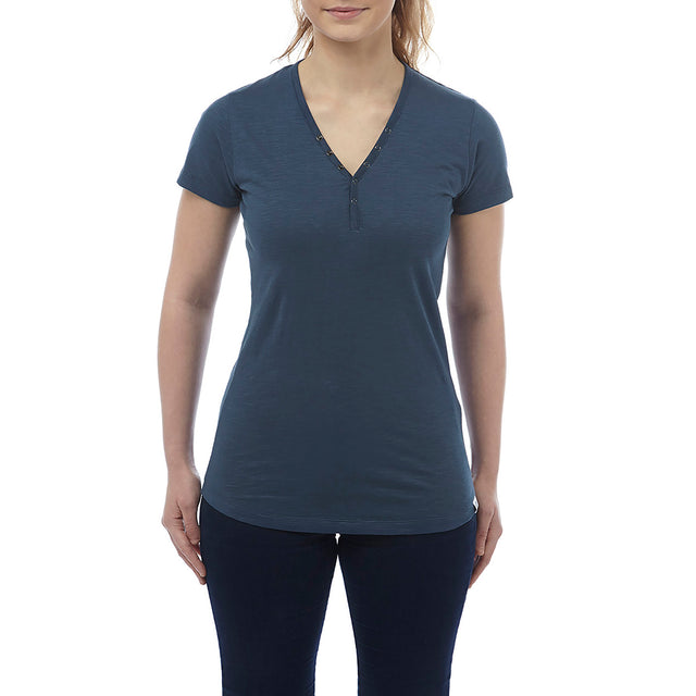Alice Womens T-Shirt - French Navy image 2