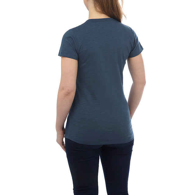 Alice Womens T-Shirt - French Navy image 3