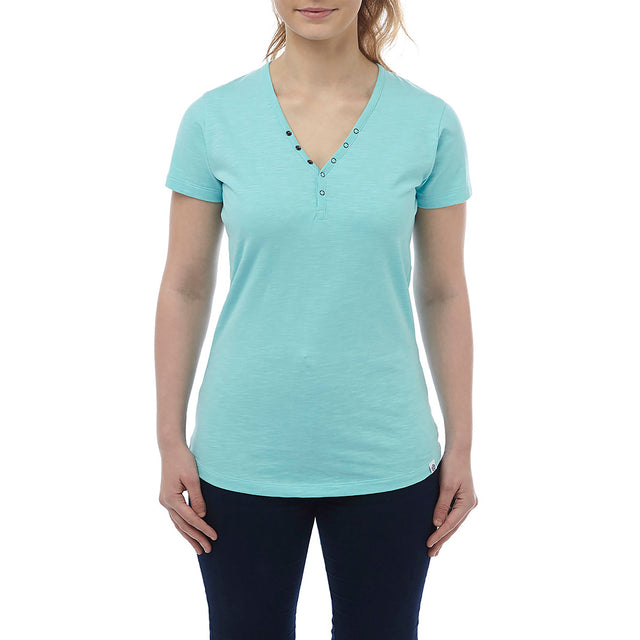 Alice Womens T-Shirt - Spearmint image 2