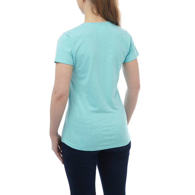 Alice Womens T-Shirt - Spearmint image 3