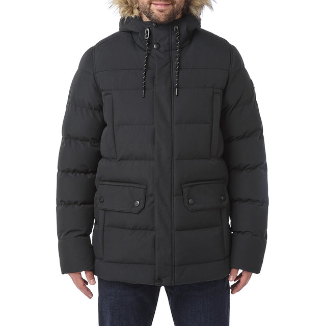Arctic Mens Insulated Jacket - Black image 2
