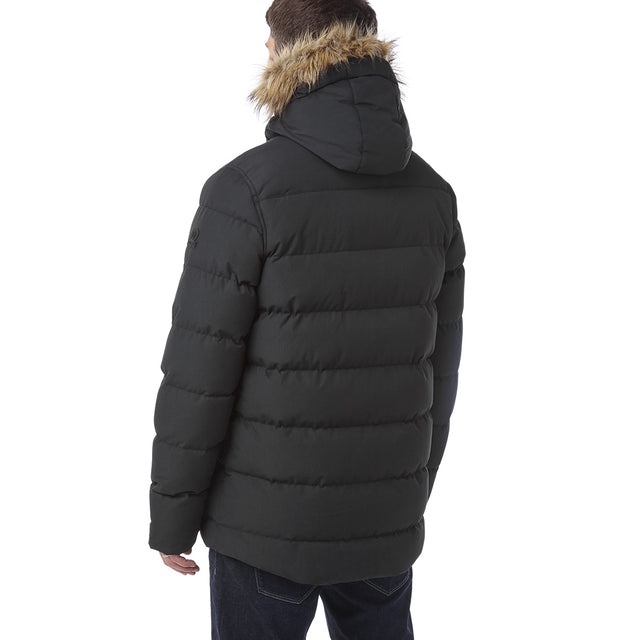 Arctic Mens Insulated Jacket - Black image 3