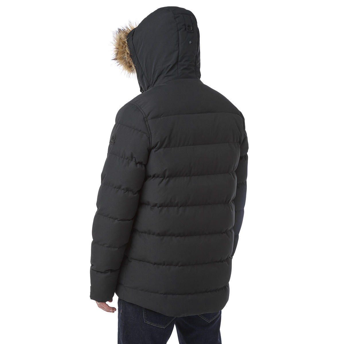 Arctic Mens Insulated Jacket - Black image 4