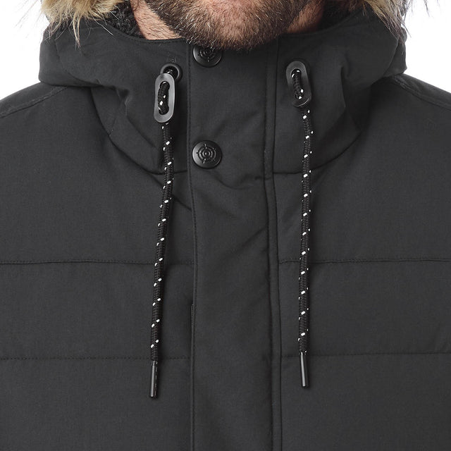 Arctic Mens Insulated Jacket - Black image 5