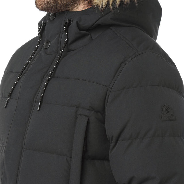 Arctic Mens Insulated Jacket - Black image 6