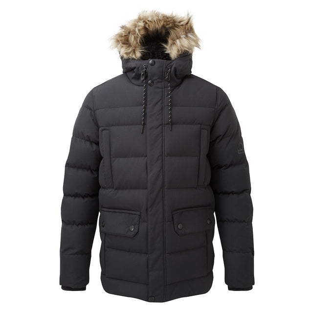 Arctic Mens Insulated Jacket - Black image 1