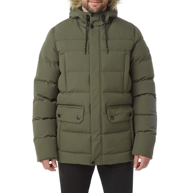Arctic Mens Insulated Jacket - Dark Khaki image 2