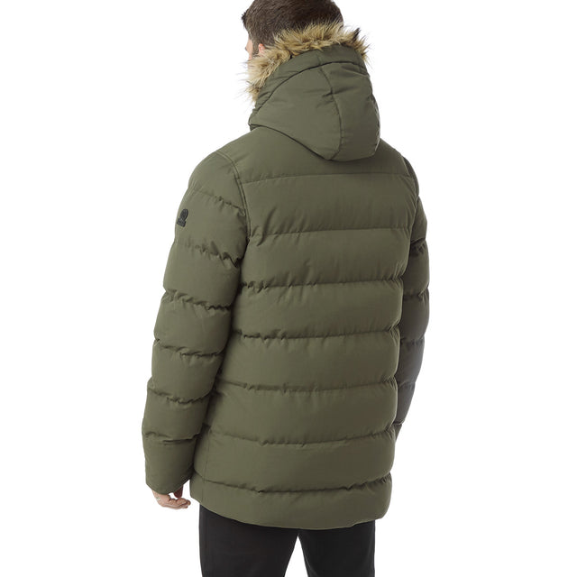 Arctic Mens Insulated Jacket - Dark Khaki image 3