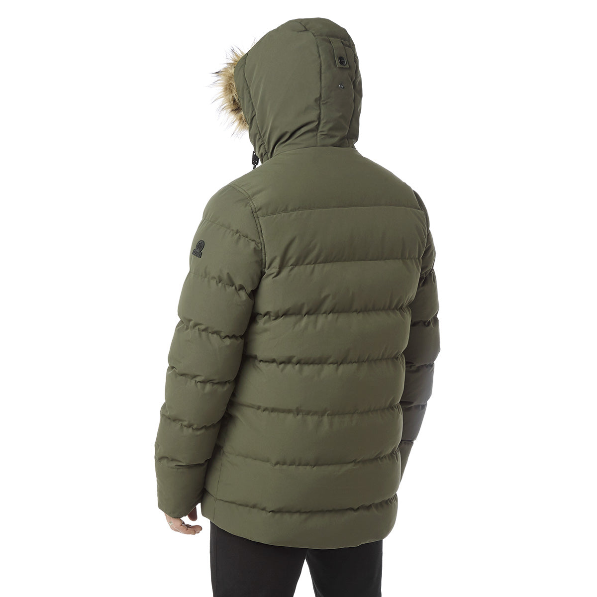Arctic Mens Insulated Jacket - Dark Khaki image 4