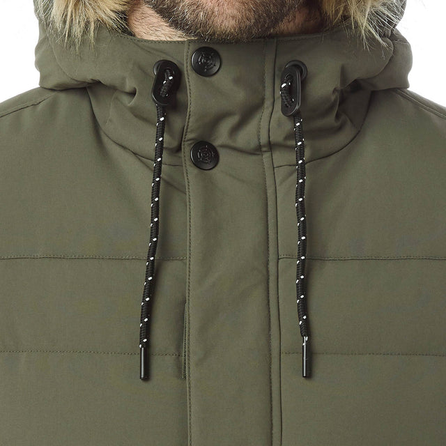Arctic Mens Insulated Jacket - Dark Khaki image 5