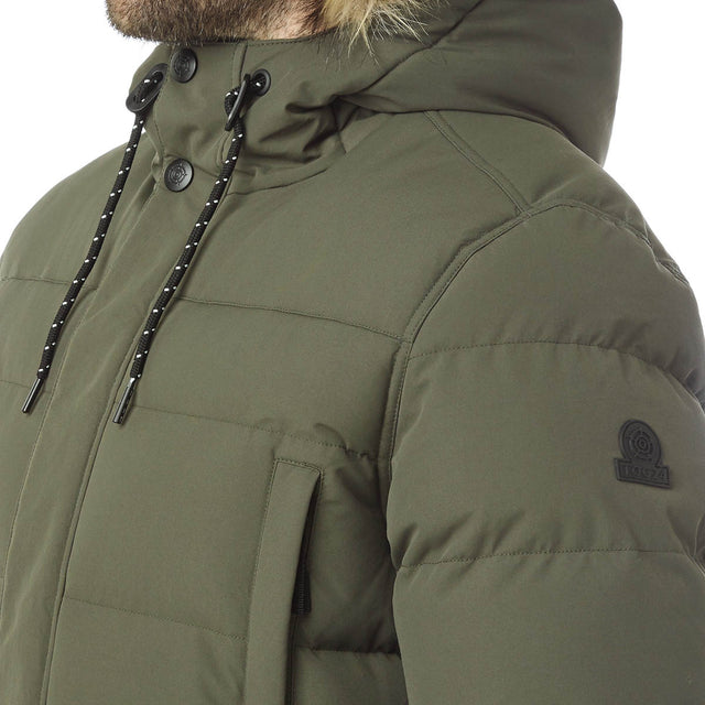 Arctic Mens Insulated Jacket - Dark Khaki image 6