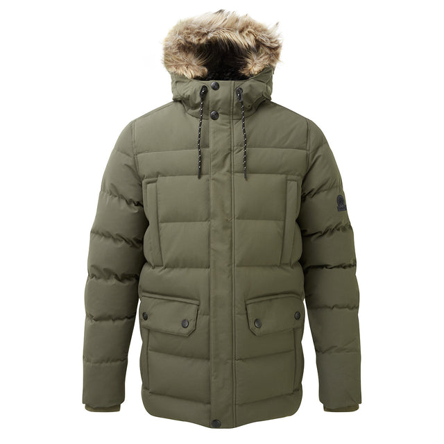 Arctic Mens Insulated Jacket - Dark Khaki image 1