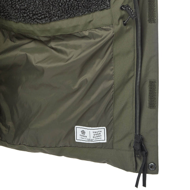 Arctic Mens Insulated Jacket - Dark Khaki image 7