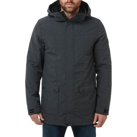 Arkle Mens Milatex 3-In-1 Jacket - Black Marl