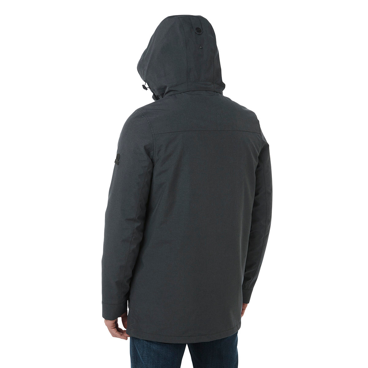 Arkle Mens Milatex 3-In-1 Jacket - Black Marl image 4