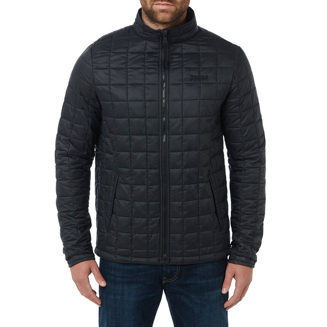 Arkle Mens Milatex 3-In-1 Jacket - Black Marl image 6