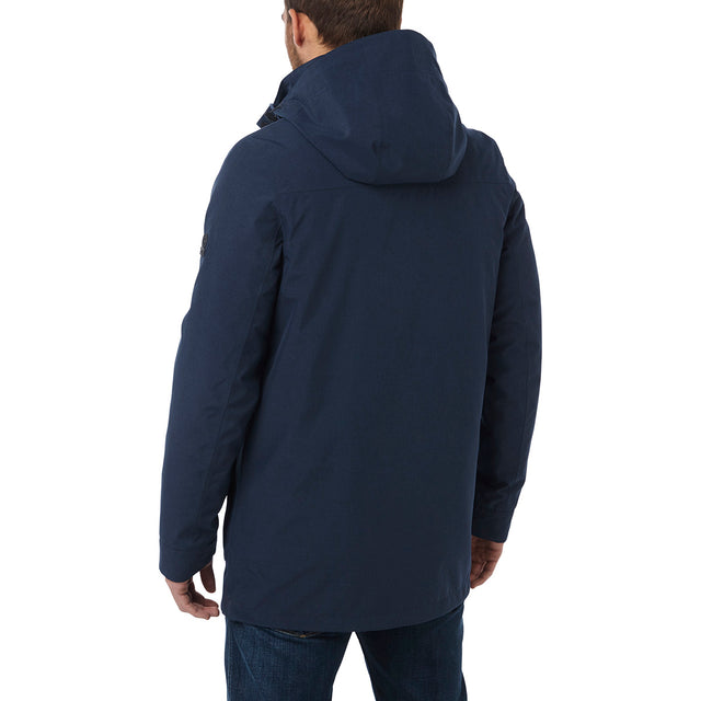 Arkle Mens Milatex 3-In-1 Jacket - Navy Marl image 3