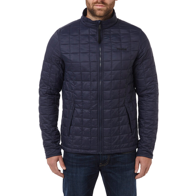 Arkle Mens Milatex 3-In-1 Jacket - Navy Marl image 6