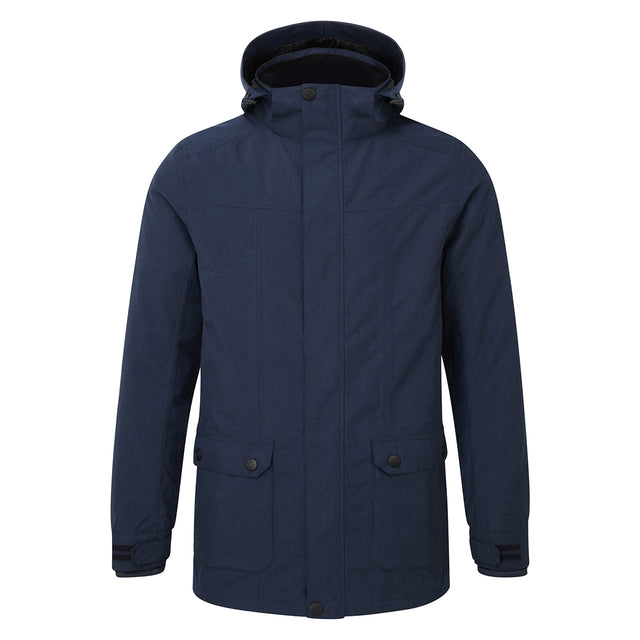 Arkle Mens Milatex 3-In-1 Jacket - Navy Marl image 1