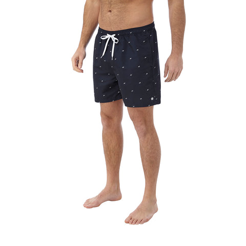 Arthur Mens Swimshorts - Navy Print