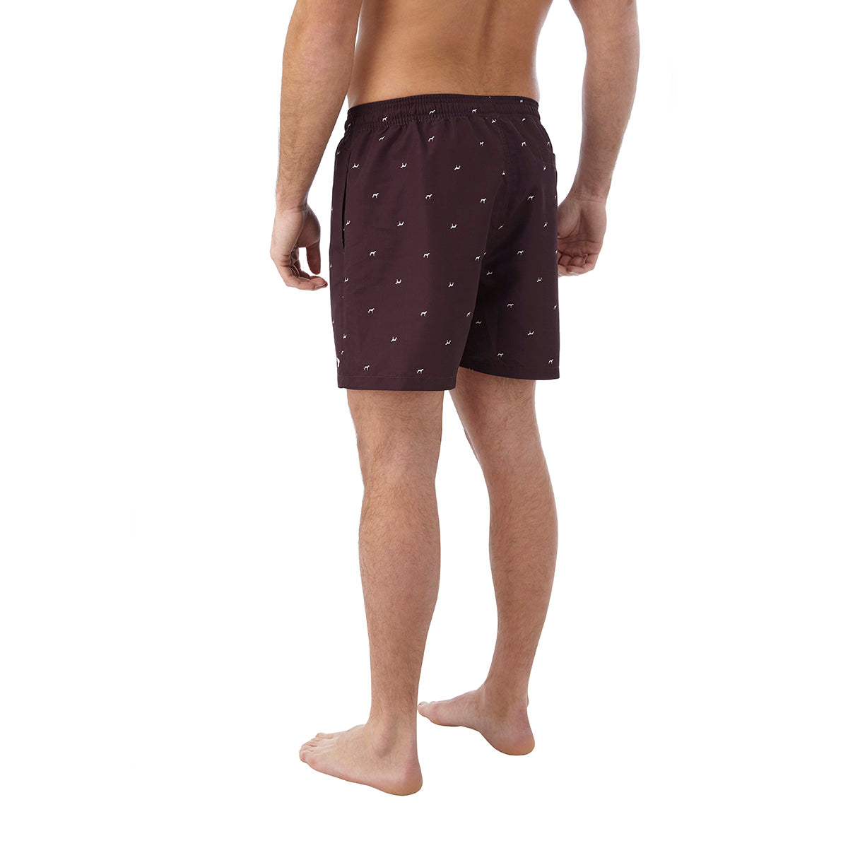 Arthur Mens Swimshorts - Deep Port Print image 4