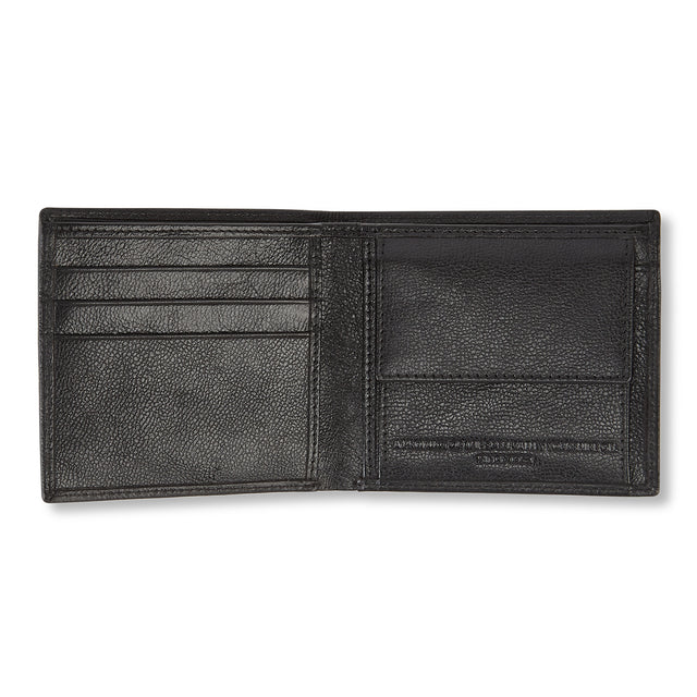 Tooting Leather Wallet - Black image 2