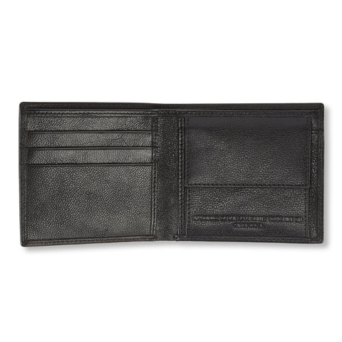 Tooting Leather Wallet - Black