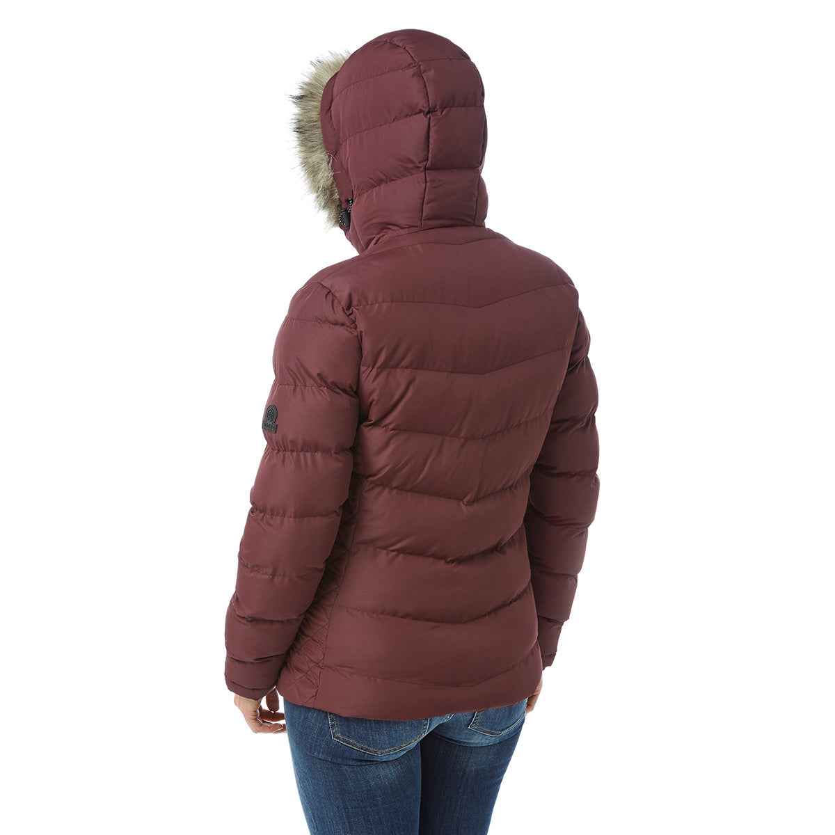 Bartle Womens Insulated Jacket - Deep Port image 4