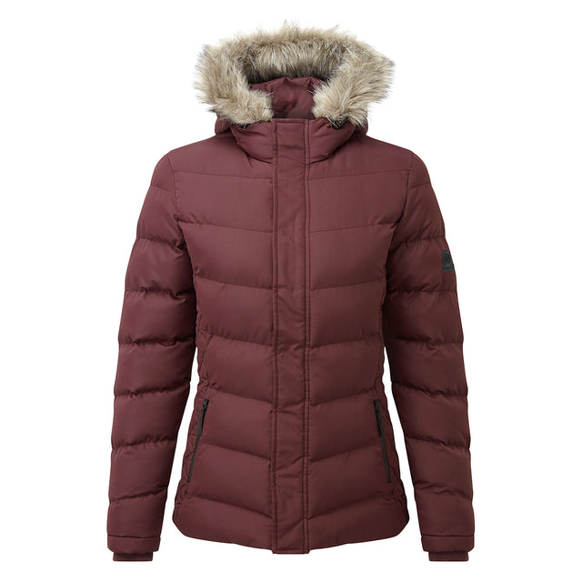 Bartle Womens Insulated Jacket - Deep Port image 1