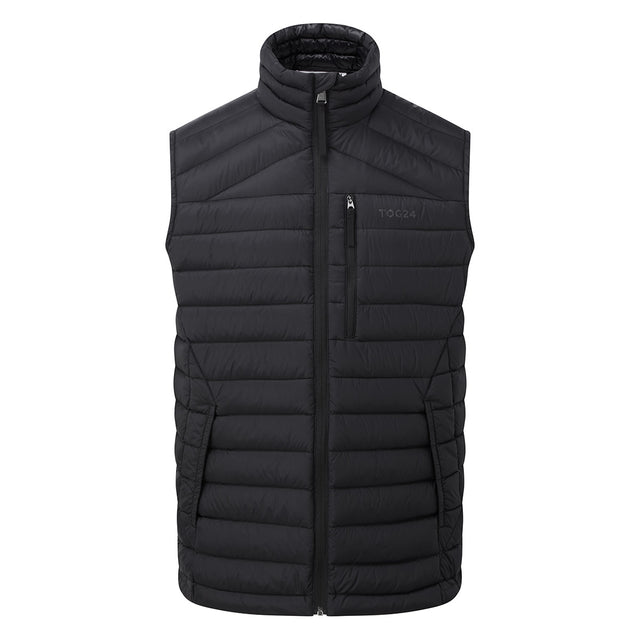 Base Mens Down Gilet - Coal Grey image 3